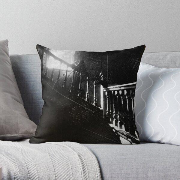 The Ascent ~ West Park Asylum Throw Pillow