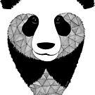 «Panda blanco y negro» de artetbe