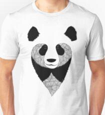 Panda black and white Unisex T-Shirt