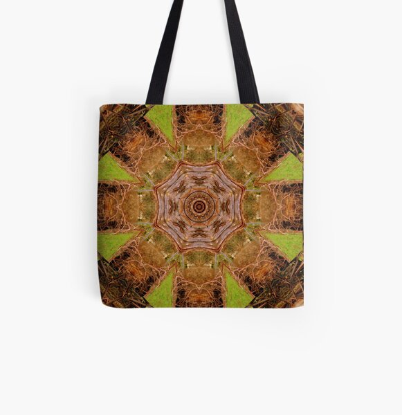 Old Man Gum Tree All Over Print Tote Bag