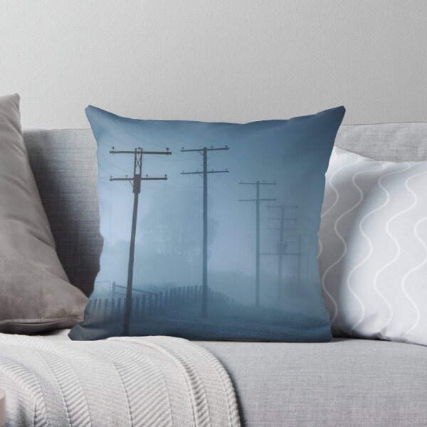 Together But Still Alone Throw Pillow