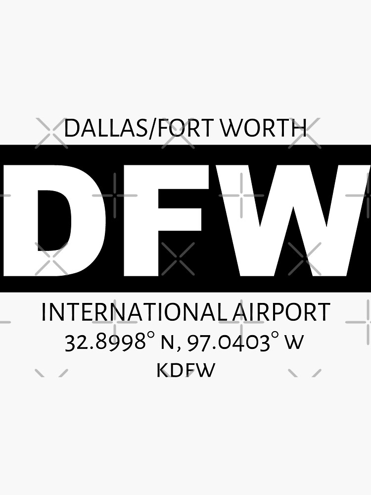 Dallas/Fort Worth International Airport DFW by AvGeekCentral