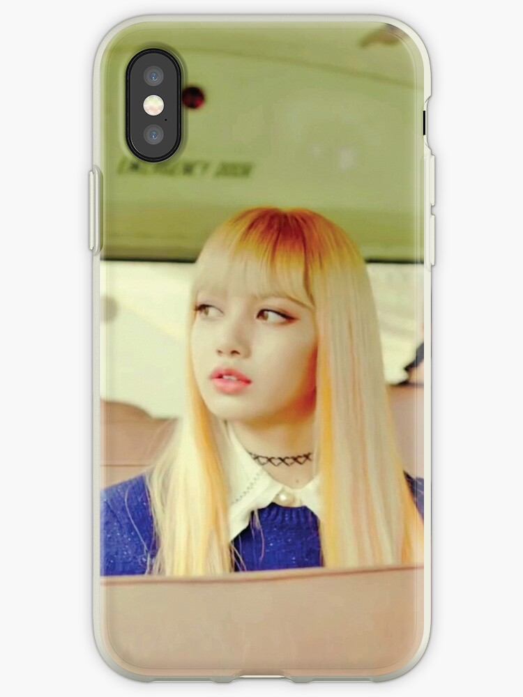 'Lisa BLACKPINK - Playing With Fire' iPhone Case by nurfzr