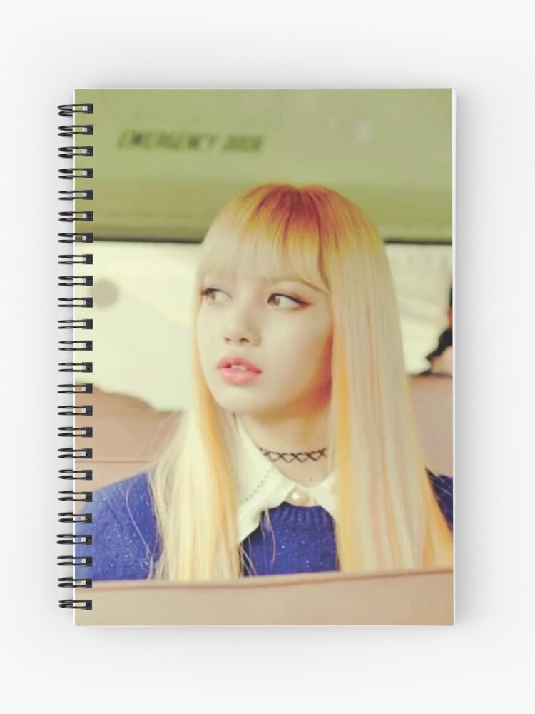 Lisa Blackpink Playing With Fire Spiral Notebook