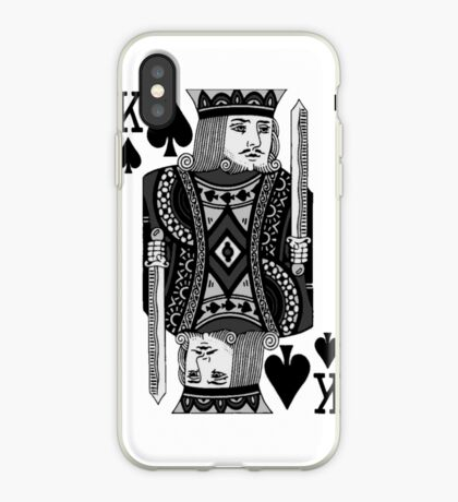 king of spades iPhone Case