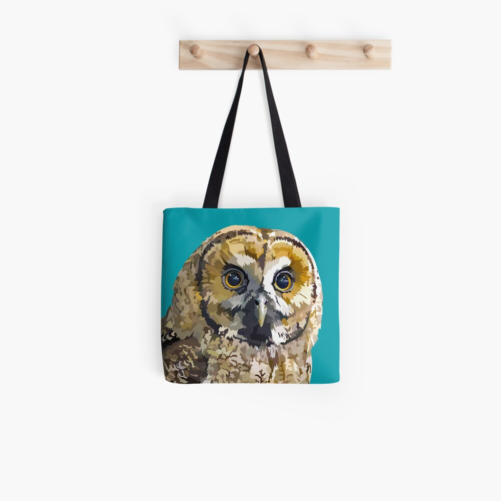 Sparkly eyed Owl  Tote Bag
