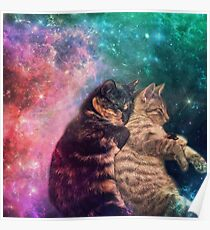 Tortilla and Feivel - Snuggles in Space Poster
