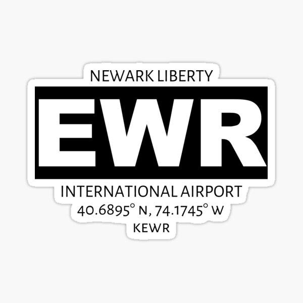 Newark Liberty International Airport EWR Sticker