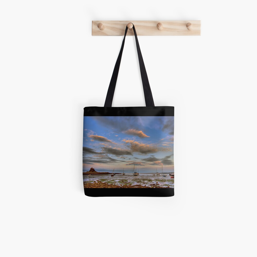 Sunset boats Tote Bag