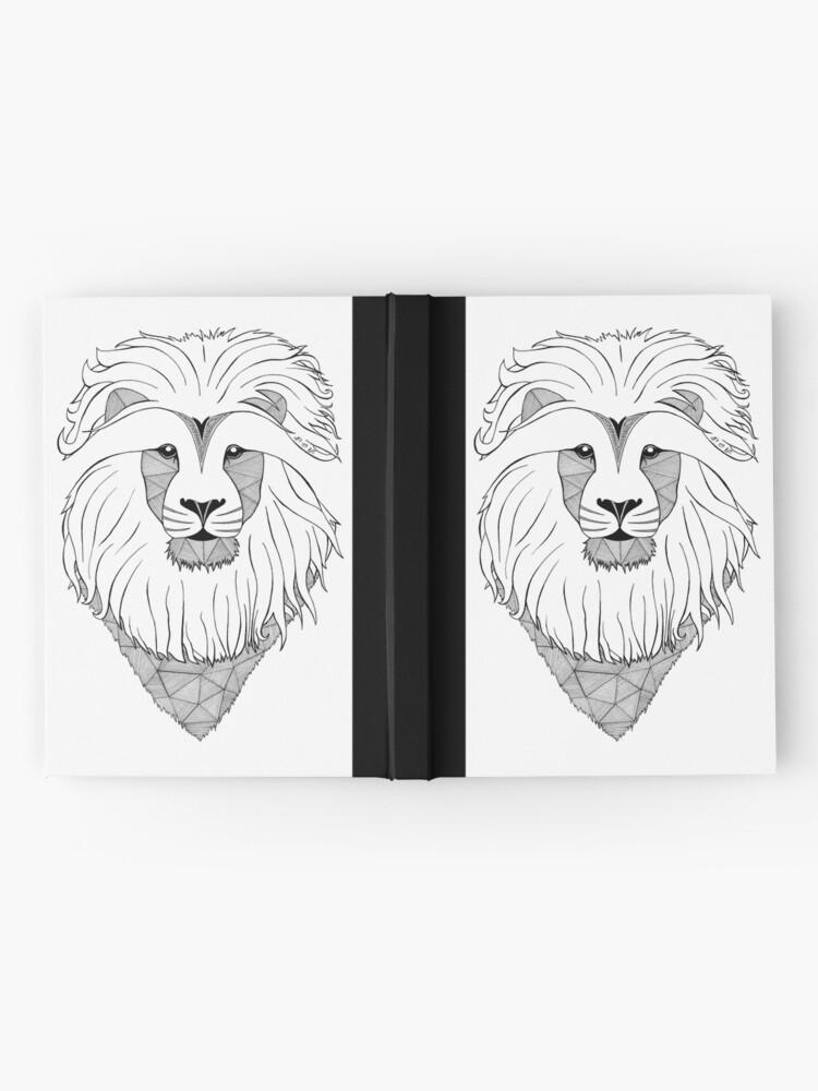 Vista alternativa de Cuaderno de tapa dura Lion Light