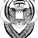 «Tigre blanco y negro» de artetbe