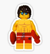 LEGO Lifeguard Sticker