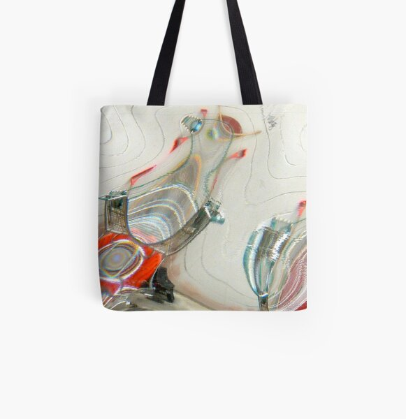 Shopping Cart All Over Print Tote Bag