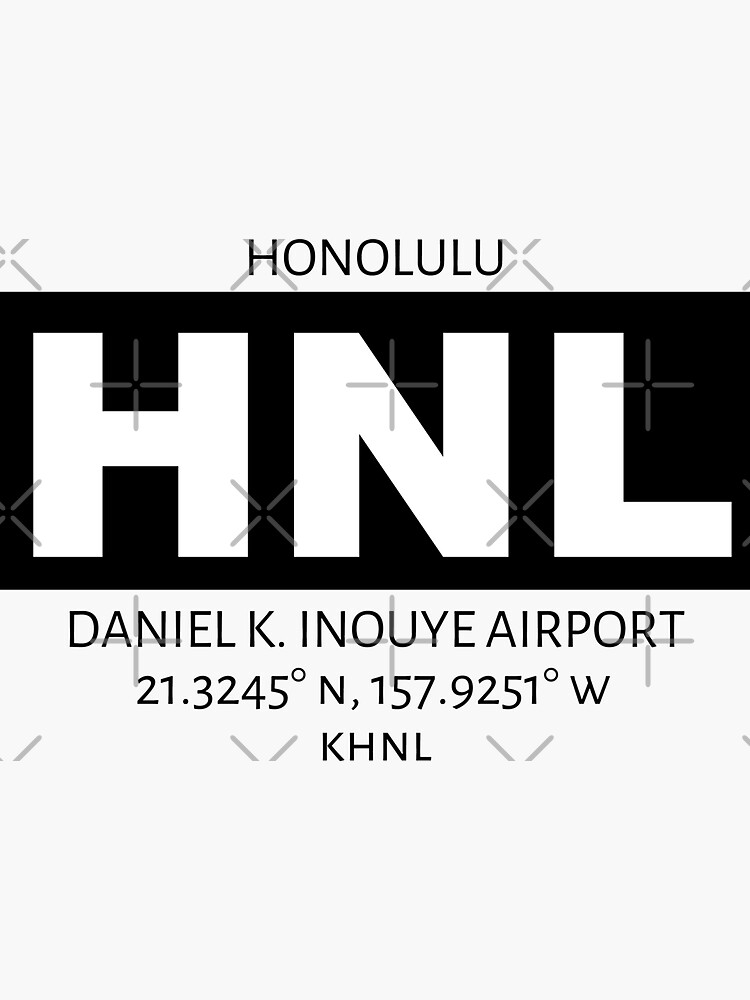 Honolulu Airport HNL by AvGeekCentral