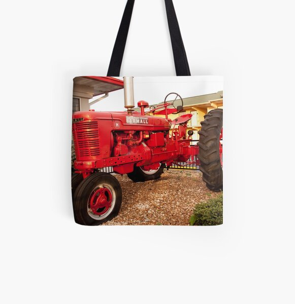 "Farmall ""H"" All Over Print Tote Bag"
