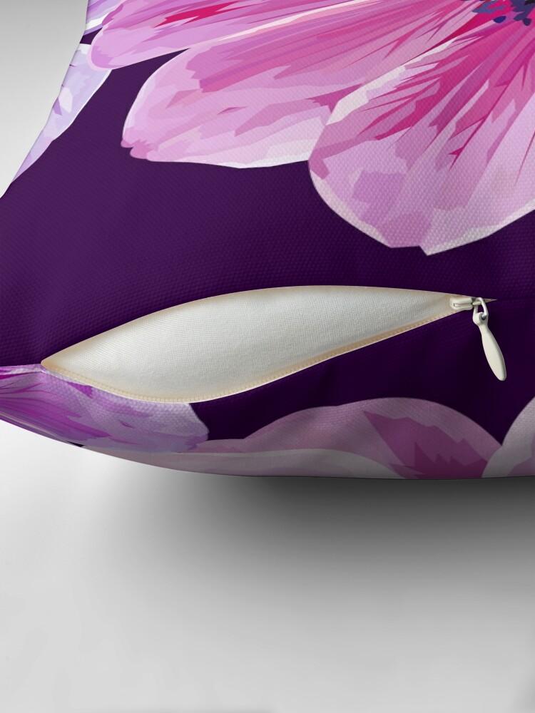 Alternate view of Pink Flower Power Floor Pillow