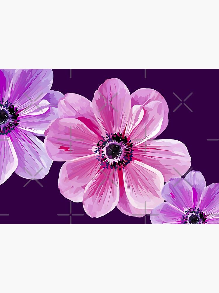 Pink Flower Power by Elviranl