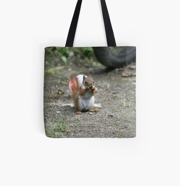 I found it first! All Over Print Tote Bag