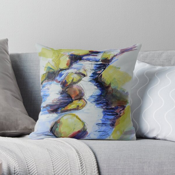 Study of water 3 Throw Pillow