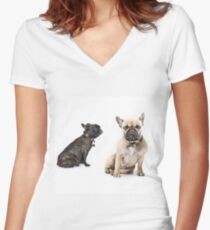 Good Friends Really Women's Fitted V-Neck T-Shirt