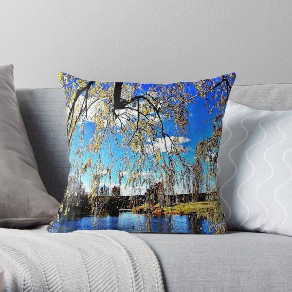 Queanbeyan River Throw Pillow