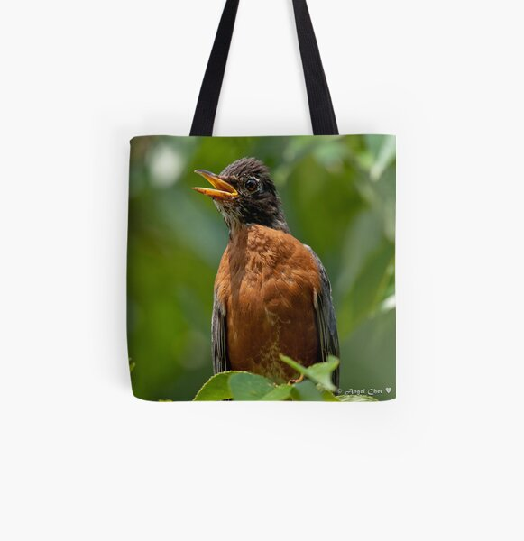 Robin Mama All Over Print Tote Bag