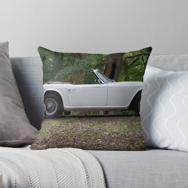 Triumph TR5 Throw Pillow