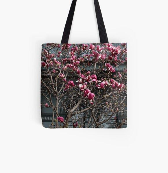 Magnoila All Over Print Tote Bag