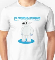 The Abominable Snowman  Unisex T-Shirt