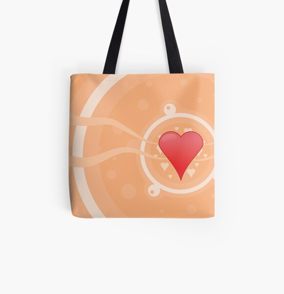 A Mother's Love All Over Print Tote Bag