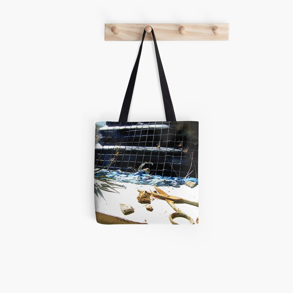 Swimming Composition Tote Bag