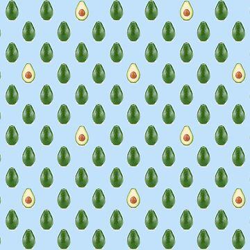 Avocado Pattern! by itsjane