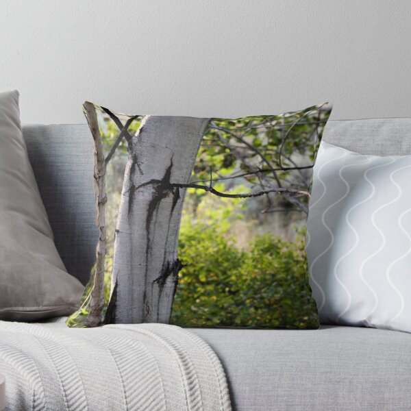 poplar grove Throw Pillow