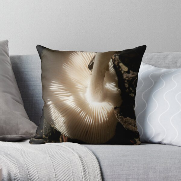 Fungalishious  Throw Pillow