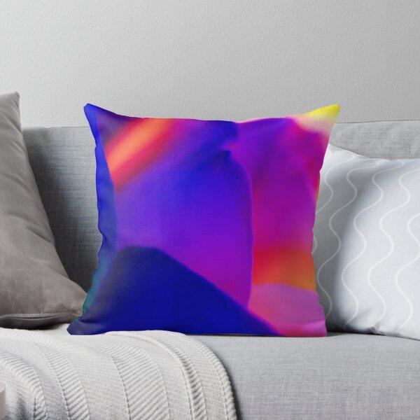 Petal magic Throw Pillow