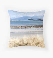 Gunner Sound looking towards Isle of Mull Throw Pillow