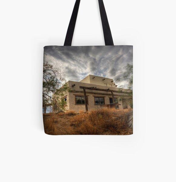 Rustic Adobe All Over Print Tote Bag