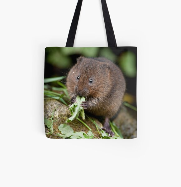 Water vole All Over Print Tote Bag