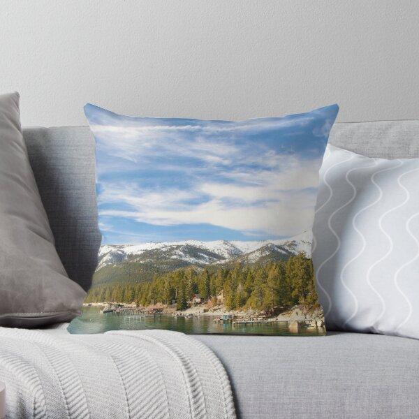 Lake Tahoe 2 Throw Pillow