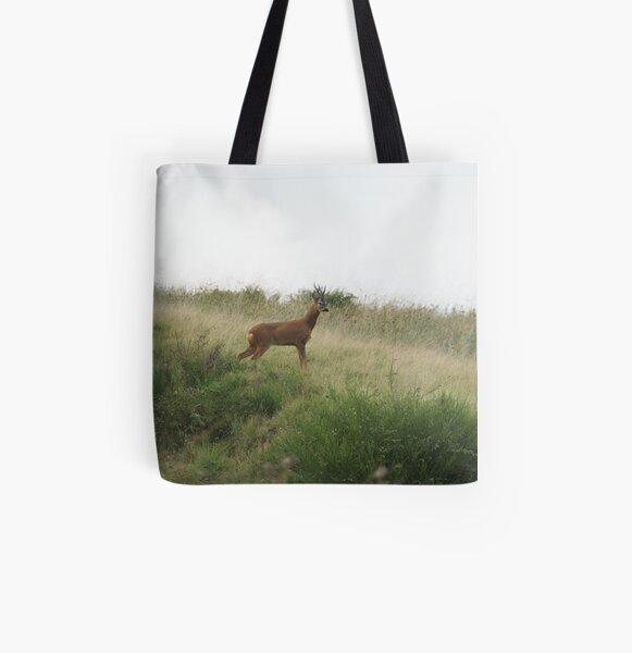 Roe Deer - Mixenden, Halifax, UK All Over Print Tote Bag