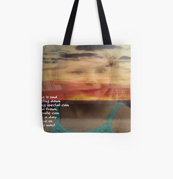 Smile ©  All Over Print Tote Bag