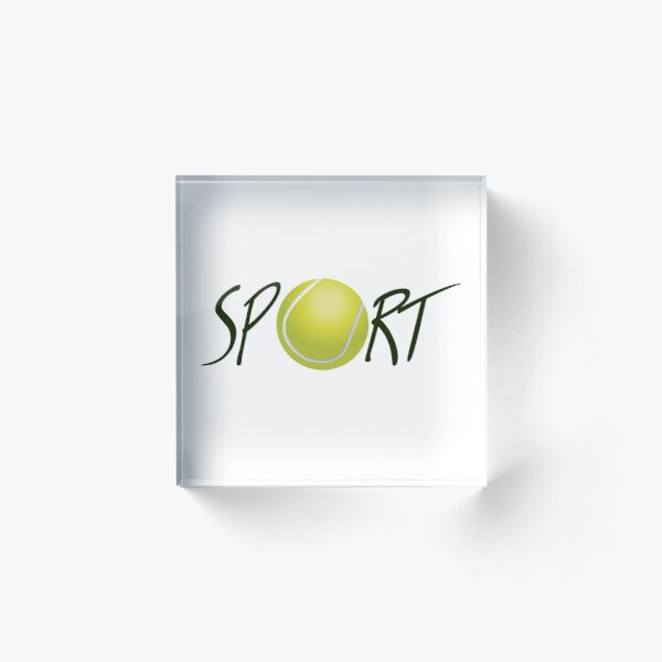Sport2 Acrylic Block