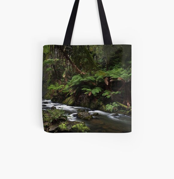 Aire River All Over Print Tote Bag