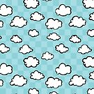 Checkerboard Clouds by Starsania