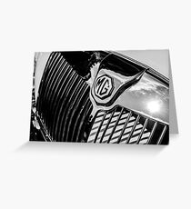 MG Radiator Grill Greeting Card