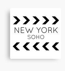 New York, SoHo Canvas Print