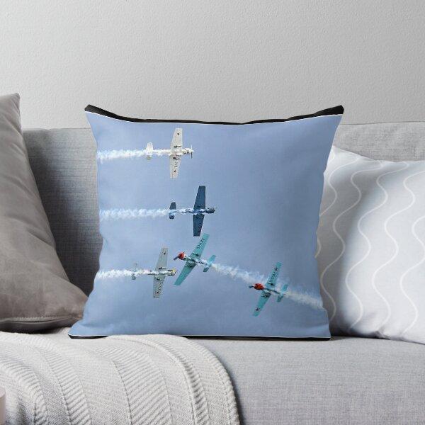 Yak  (The Aerostars display team) Throw Pillow