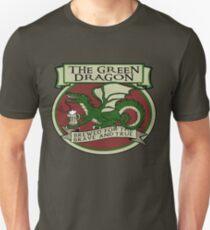 Le dragon vert T-shirt ajusté
