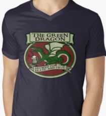 The Green Dragon Men's V-Neck T-Shirt