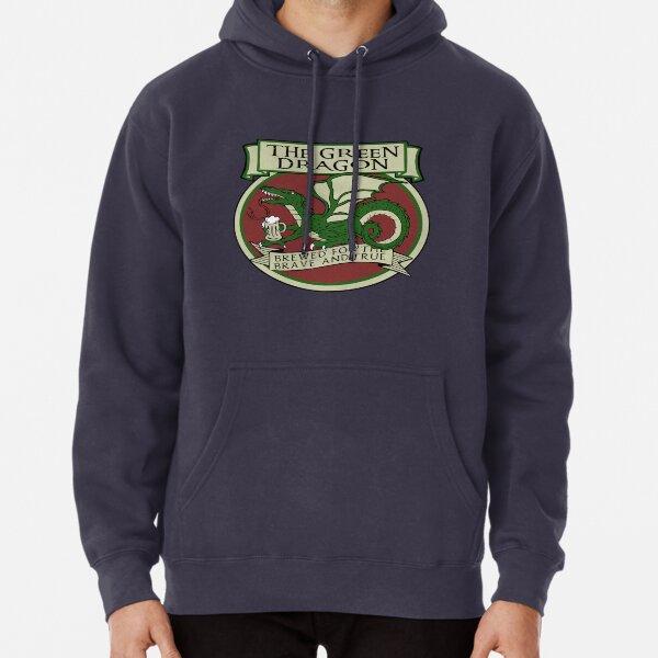 Le dragon vert Sweat à capuche épais
